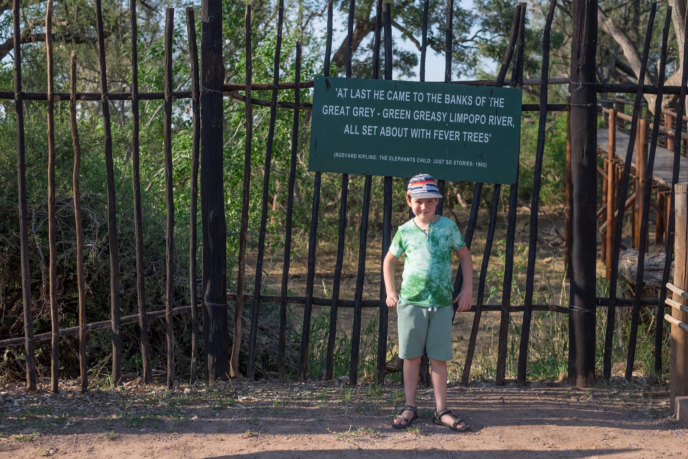 Rudyard Kipling. Limpopo in Mapungubwe