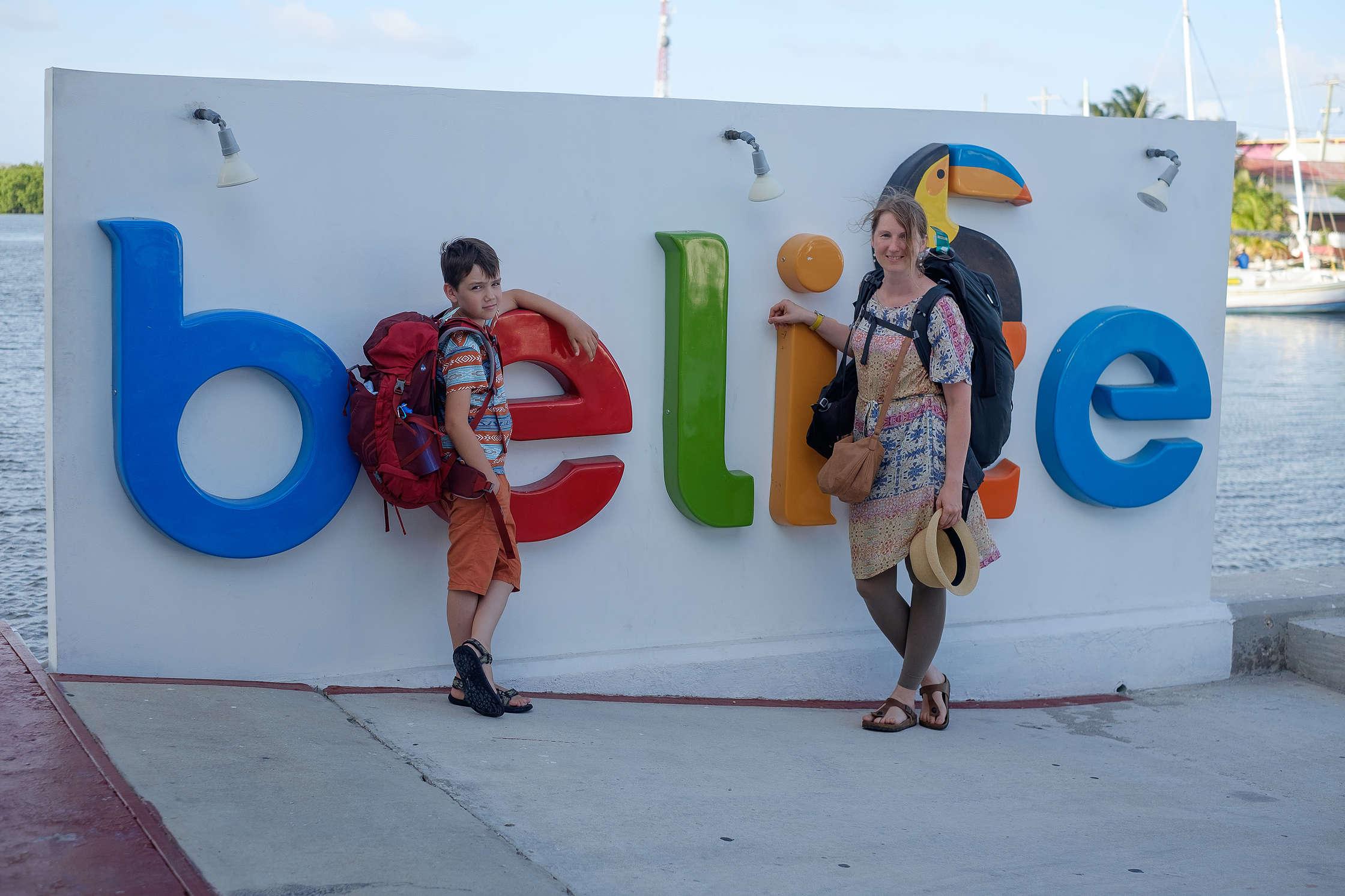 Esam Belizā!